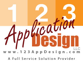 123AppDesign.com provide Custom Business Software solutions! Online and offline!